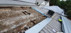 Roof leak North Melbourne