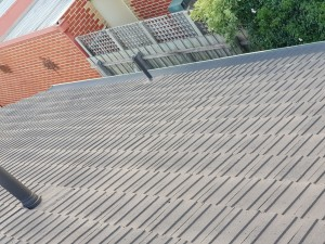 forest hill gutter guard colorobnd mesh