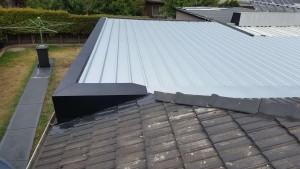 roof restoration kliplok and flashings