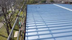 zincalume roof repair